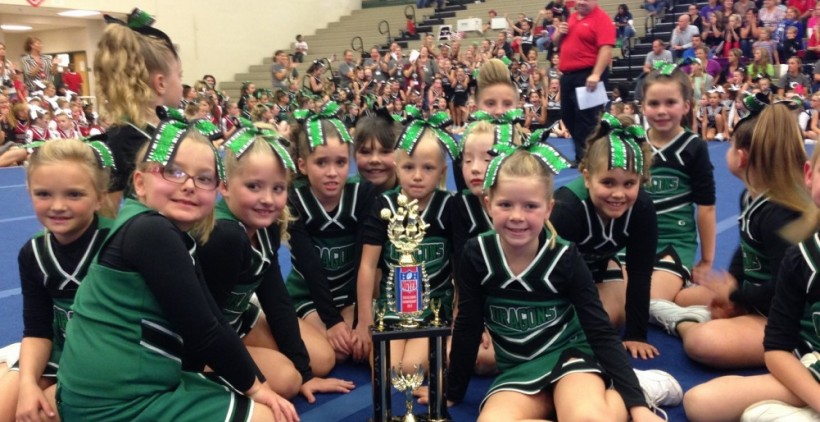 Pickens County Jr. Dragons celebrate a 2nd place finish