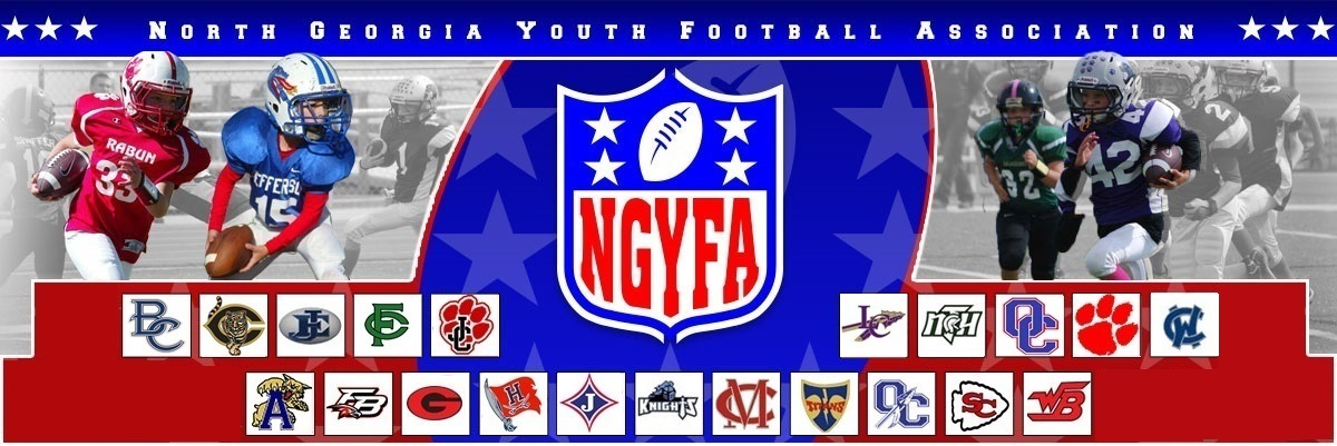 North Georgia Youth Football Association Header Image